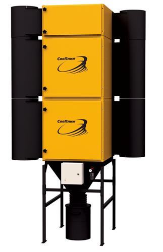 Стационарный самоочищающийся модульный фильтр MDB